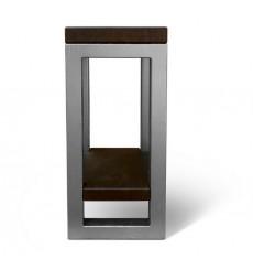 Table d'appoint en chêne massif RESTO-01, 30 cm