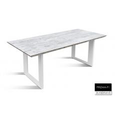 Table à manger en chêne massif PRIZMA-F1, 200 cm