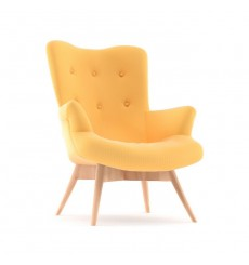 Fauteuil POLO jaune