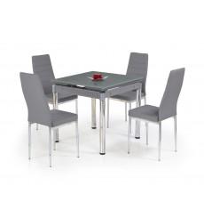 Table extensible KENT gris 80-130/80/76 cm