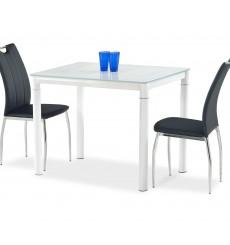 Table à manger ARGUS en blanc 100/60/75 cm