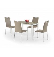 Table à manger ARGUS beige 100/60/75 cm