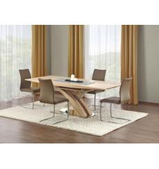 Table extensible SANDOR chêne 160-220/90/75 cm,