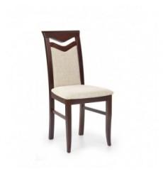 Lot de 2 chaises en bois massif CITRONE