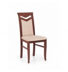 Lot de 2 chaises en bois massif CITRONE Cerisier