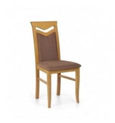 Lot de 2 chaises en bois massif CITRONE aulne