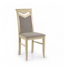 Lot de 2 chaises en bois massif CITRONE chêne