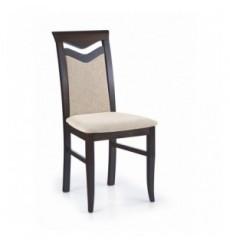 Lot de 2 chaises en bois massif CITRONE wenge