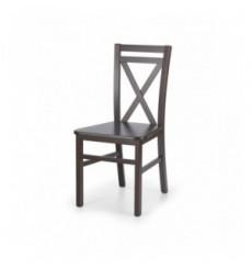 Lot de 2 chaises en bois massif DARIUSZ_2 noyer