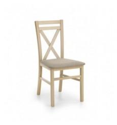 Lot de 2 chaises en bois massif DARIUSZ chêne