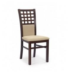 Lot de 2 chaises en bois massif GERARD3 noyer