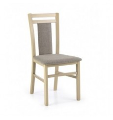Lot de 2 chaises en bois massif HUBERT8 chêne