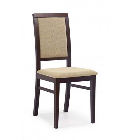 Lot de 2 chaises en bois massif SYLWEK1
