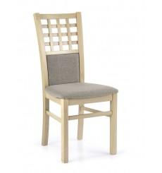 Lot de 2 chaises en bois massif GERARD3 chêne clair