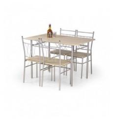 Salle à manger FAUST avec 4 chaises