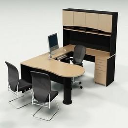 Conjunto completo de oficinas