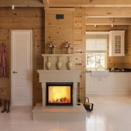 Insert cheminée à bois
